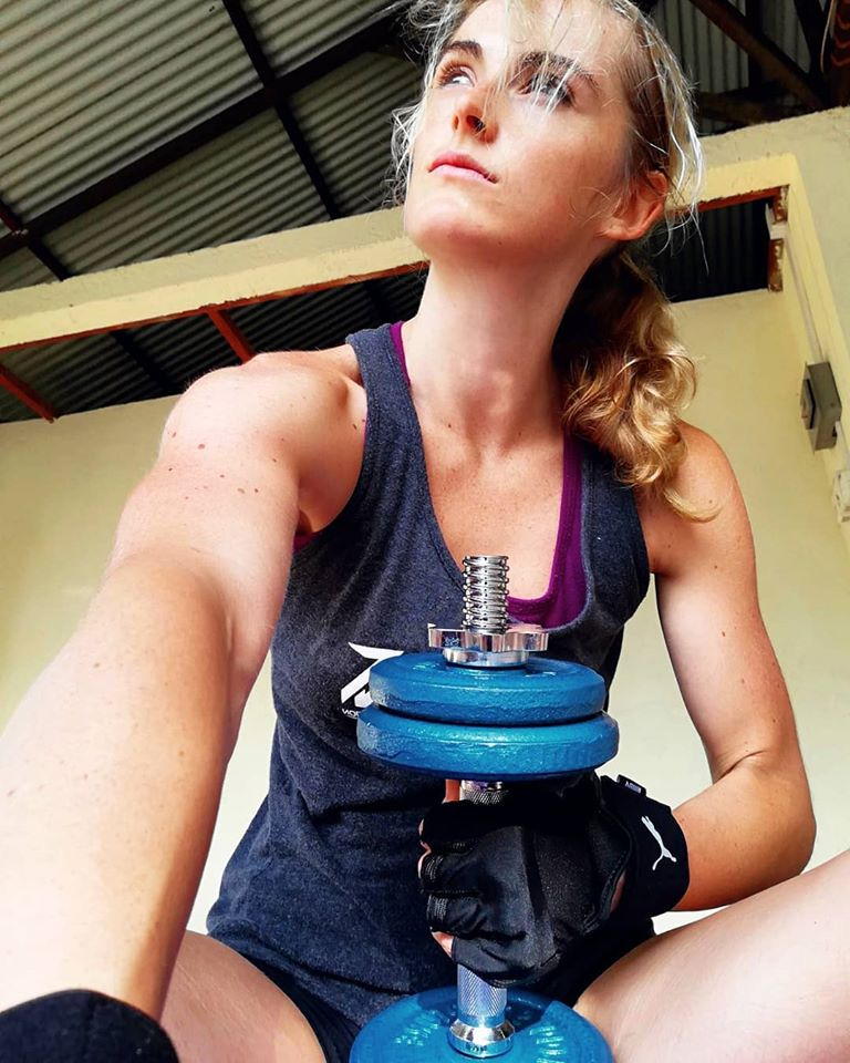 Skye strength training [skyezeefashionfit]